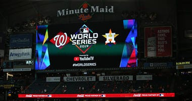 Nationals' Dozier, Parra, Zimmerman talk World Series Game 1