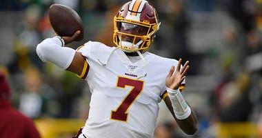 NFL Hall of Famer Michael Irvin said the Redskins should consider moving on from Dwayne Haskins.