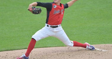 DL Hall Delivers A Pitch In The All Star Futures Game