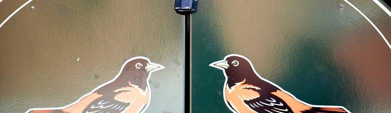 Oriole Park gates locked