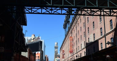 Eutaw Street at Camden Yards