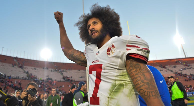purchase cheap f3c9d 4ace4 Ravens Warned By Military Not To Sign Colin Kaepernick ...