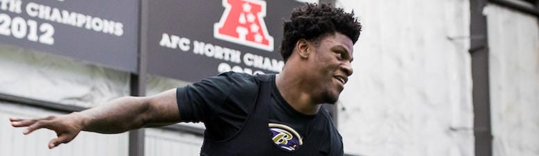 Lamar Jackson hosts workout with wide receivers