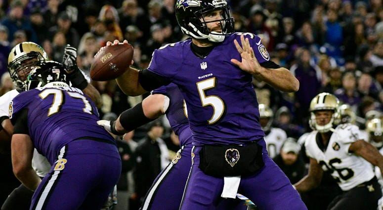5fdb3f9d Joe Flacco traded to Denver, what does it mean for Ravens | Sports ...