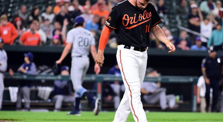 e3c915f8d Orioles bats fall victim to Glasnow again as Rays win 7-0