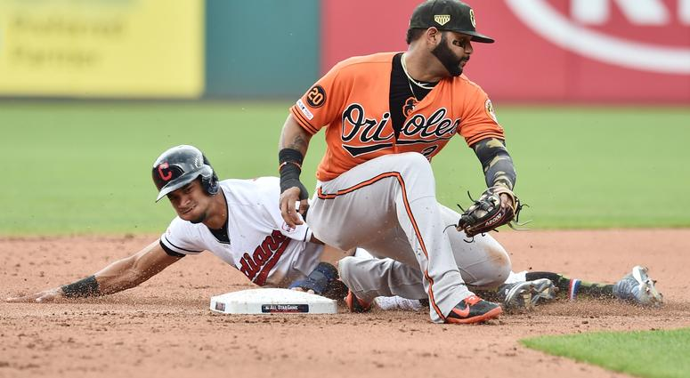 timeless design 3abb4 64ce9 Orioles road trip concludes with 10-0 loss to Indians ...