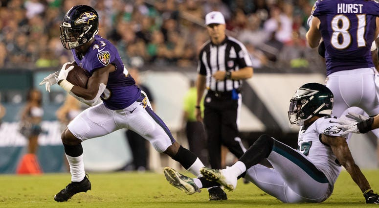 3d00f9ea 6 takeaways from the Ravens win over the Eagles | Sports Radio 105.7 FM
