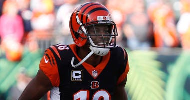 Bengals AJ Green's status is unknown for Sunday's game