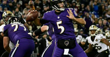 NFL: New Orleans Saints at Baltimore Ravens