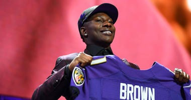 Marquise Brown is Fourth-Highest Rated Rookie In Madden
