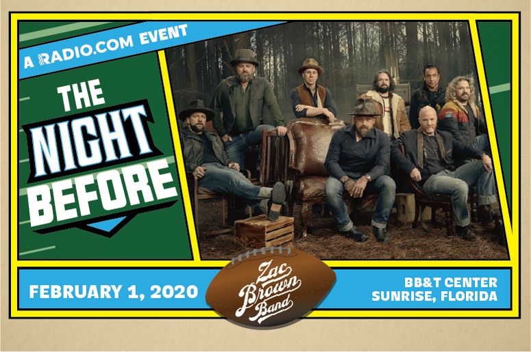 """Zac Brown Band Coming To South Florida In """"The NIght Before"""""""