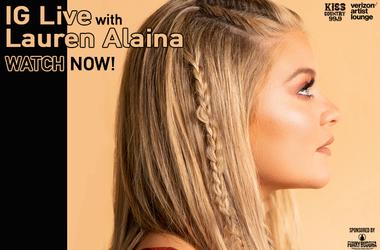 Lauren Alaina IG Live Watch Now