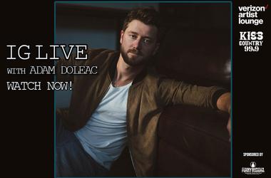 Adam Doleac IG Live Watch now