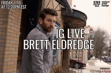 Brett Eldredge IG Live
