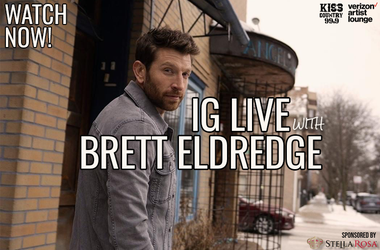 Brett Eldredge IG Live Watch Now