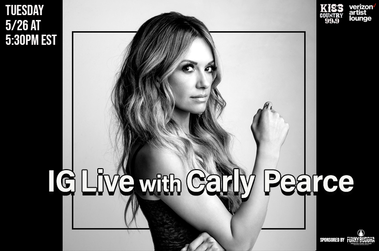 IG Live with Carly Pearce