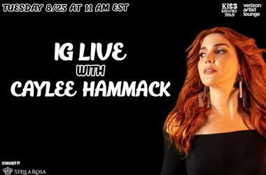 Caylee Hammock IG Live