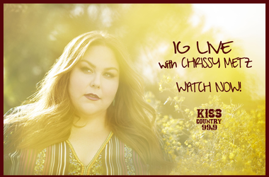 IG Live with Chrissy Metz - watch now