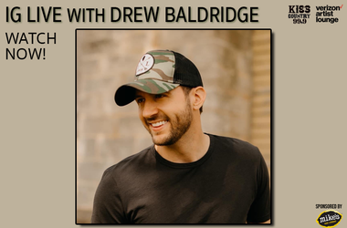 Drew Baldridge IG Live Watch now