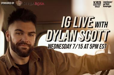 Dylan Scott IG Live