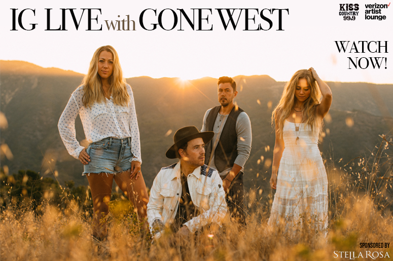 Gone West IG Live Watch Now