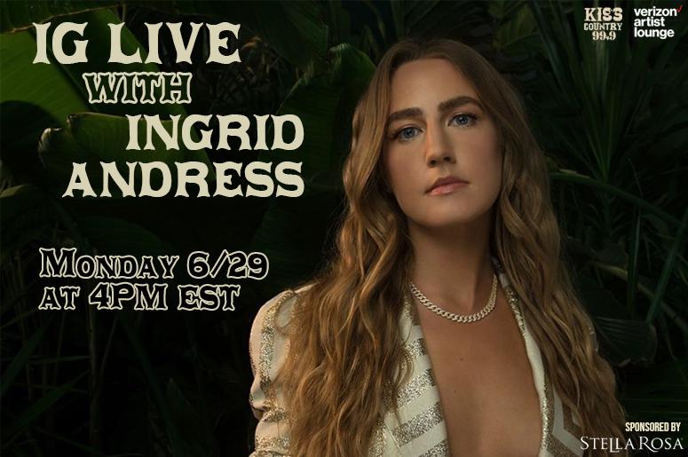 Ingrid Andress IG Live