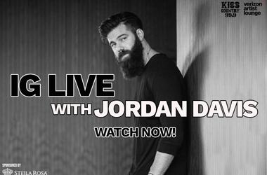 Jordan Davis IG Live watch now