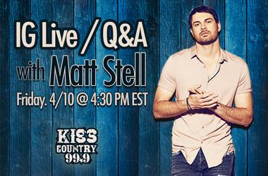IG Live with Matt Stell