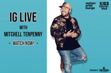 Mitchell Tenpenny IG Live Watch now