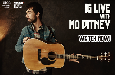 Mo Pitney IG Live Watch Now