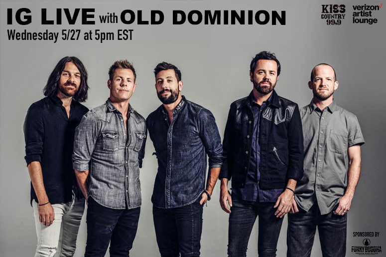 IG Live with Old Dominion