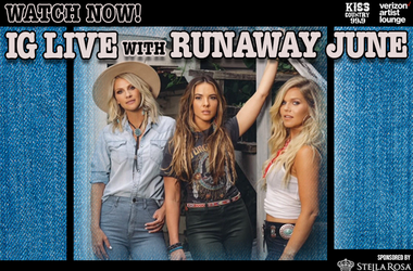 Runaway June IG Live watch now