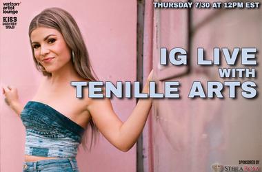 Tenille Arts IG Live