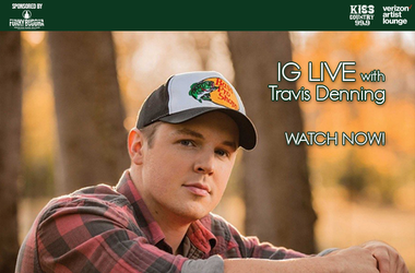 Travis Denning IG Live watch now