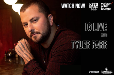 Tyler Farr IG Live Watch Now