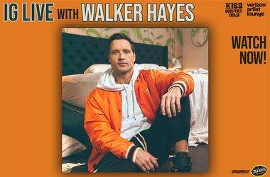 Walker Hayes IG Live watch now