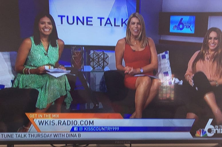 Another Edition Of Tune Talk With Dina B On Nbc 6 In The Mix Wkis