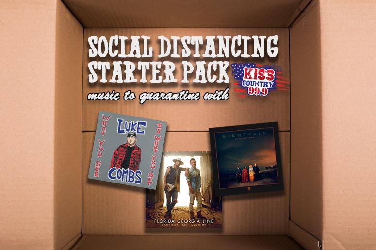 social distancing starter pack