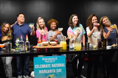 National Margarita Day kiss