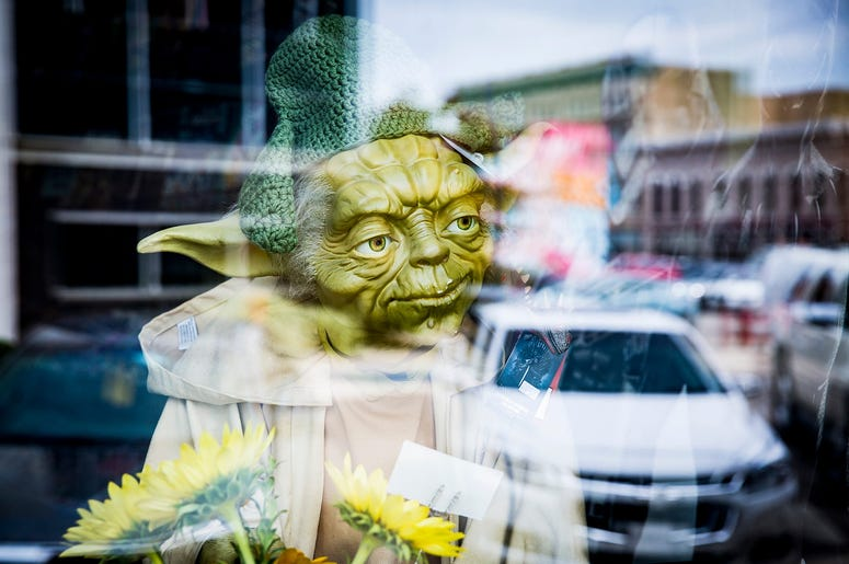 Baby Yoda Doll In Stores