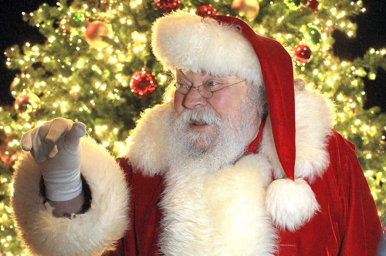 Santa Clause Releases His Official Address