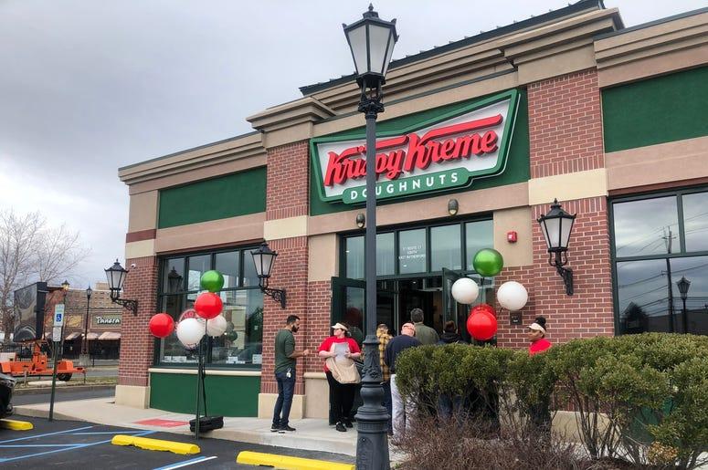Free Krispy Kreme Donuts Next Week