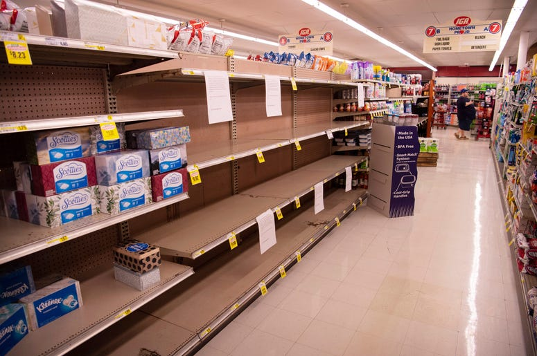 Security Beefed Up In Toilet Paper Isle