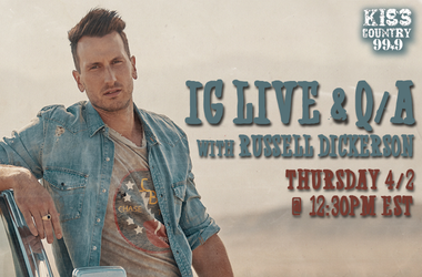 IG LIVE with Russell Dickerson