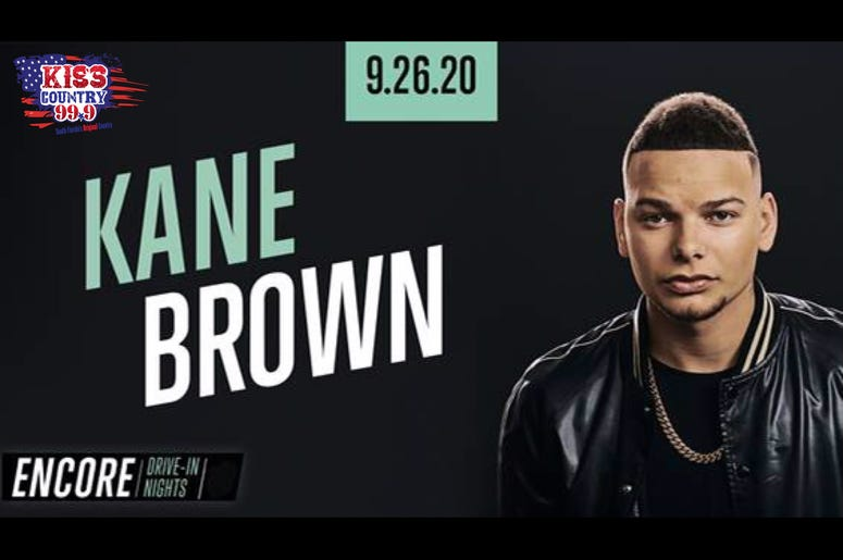 kane brown drive in