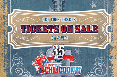 The 35th Annual KISS Chili CookOff Powered by Ford