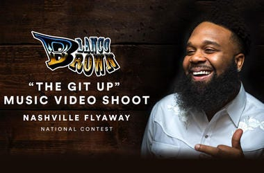 Win a Flyaway to Nashville to be in Blanco Brown's The Git Up Music Video!