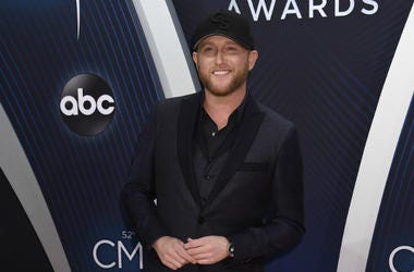 Cole Swindell. 52nd Annual CMA Awards