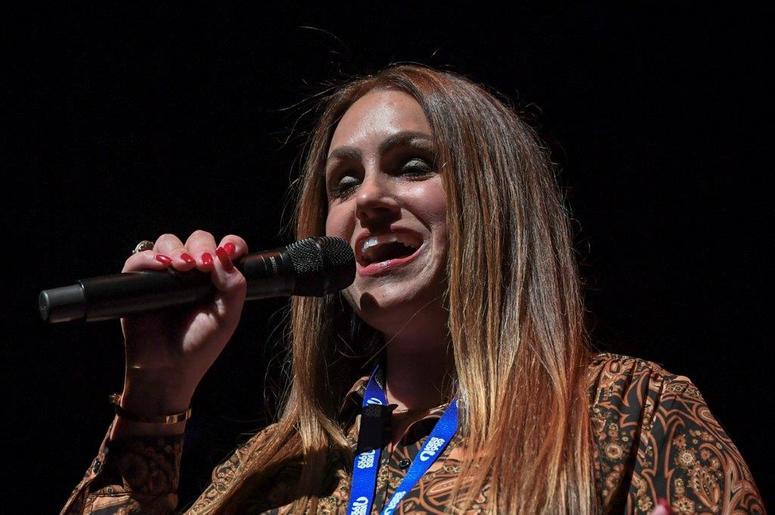Dina B at KISS Country 99.9 Stars & Guitars