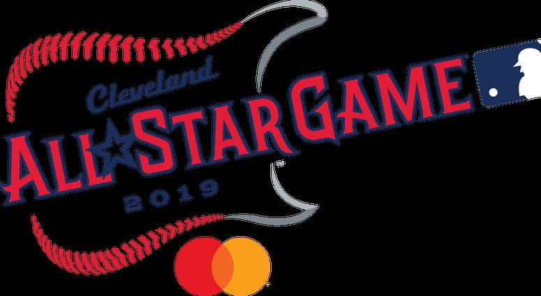 The 2019 Major League Baseball All-Star Game logo
